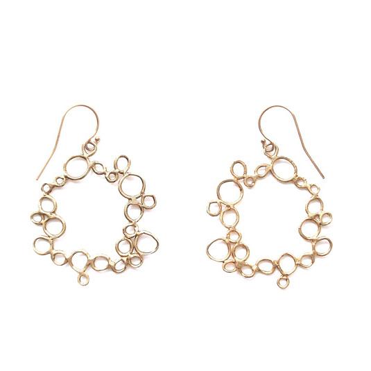 Circle Bubble Earrings