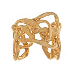 Adjustable Interwoven Ring