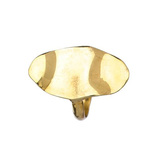 Wavy Oval Ring