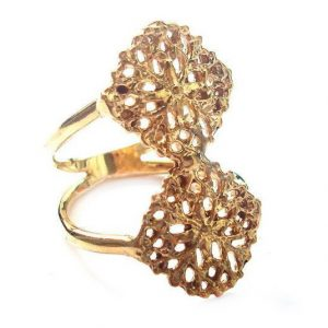 Double Filigree Ring