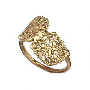 Twin Filigree Ring
