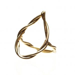 Tear Drop Shaped Rope Ring