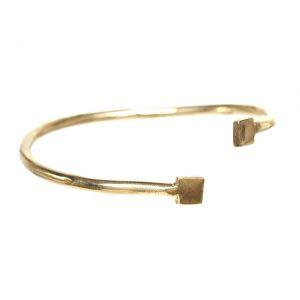 Square Cuff - Gold