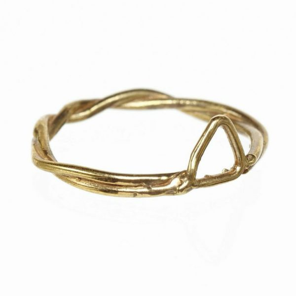 Triangle Rope Ring