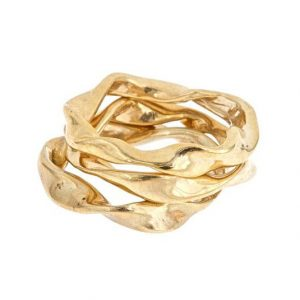 Twisted Stacked Rings