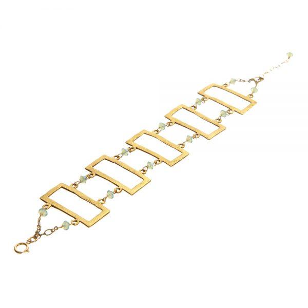 Rectangle Link Bracelet