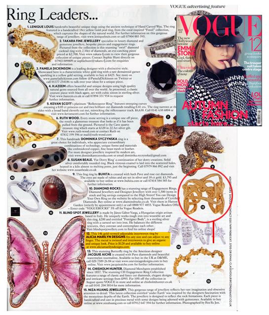 British Vogue Magazine
