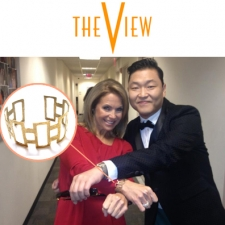 "Katie Couric on ""The View"""