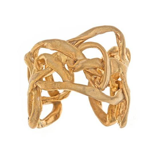 Adjustable Interwoven Ring