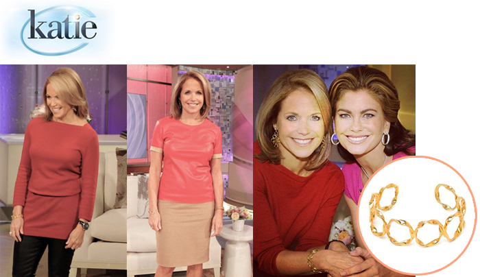 "Katie Couric on ""Katie"""